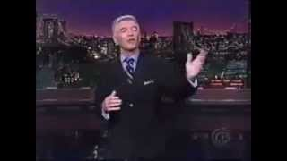 Tom Dreesen Guest Hosts the Late Show