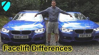 BMW F30 F31 Facelift Differences LCI M Sport Saloon & Touring