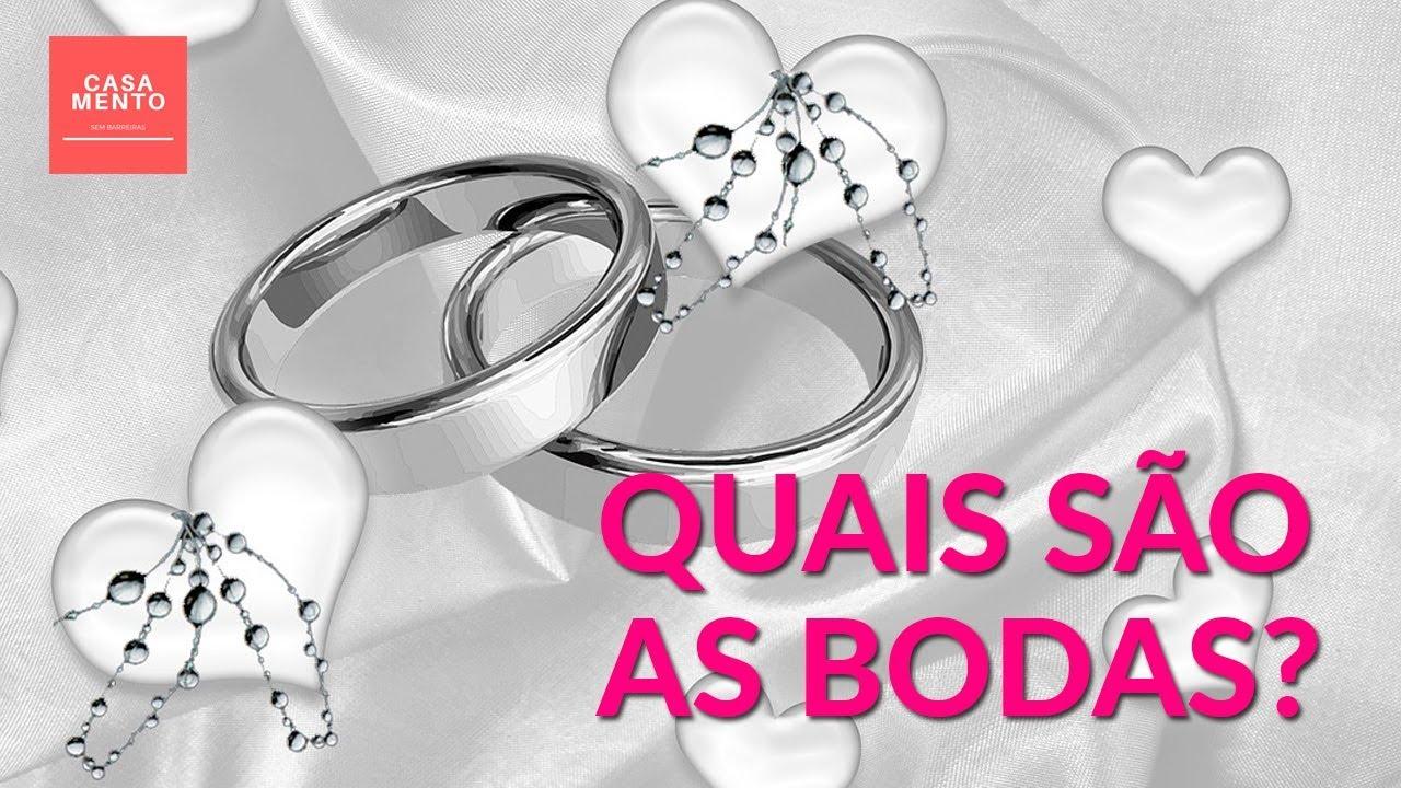 Bodas De Casamento Lista Completa E Como Comemorar