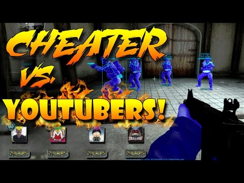 CS:GO - Cheater vs. YouTubers! (EP. 9)