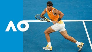 Rafael Nadal v Alex de Minaur match highlights (3R) | Australian Open 2019