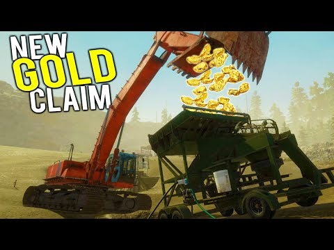 WE FOUND A MASSIVE GOLD MINE IN THE NEW GOLD CLAIM! - Gold Rush Full Release Gameplay