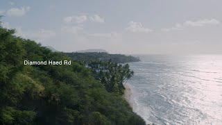 [HAWAII TV] 4K DIAMOND HEAD/ Living in Hawaii -Diamond Head Rd-WALKING -5-  [ハワイTV] ハワイ/ダイヤモンドヘッドロード
