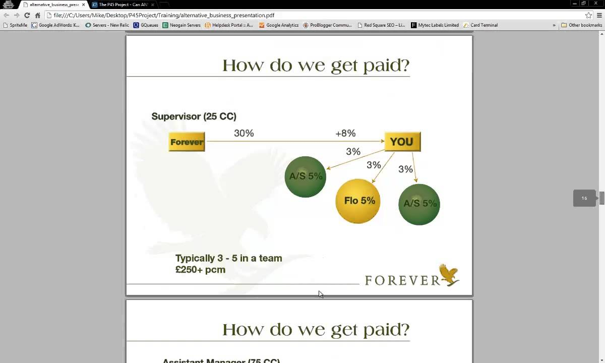Can You Make Money From Forever Living? - P45 Project - Episode 6 ...