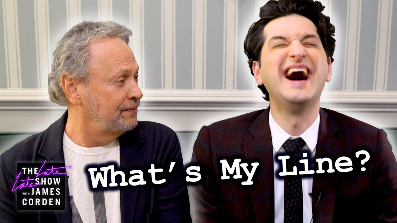 What's My Line? with Billy Crystal and Ben Schwartz