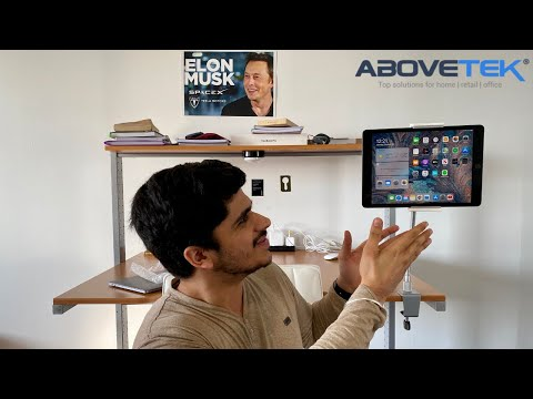 abovetek-aluminium-gooseneck-mobile/tablet-clamp-holder-review-|-best-support-for-your-devices!
