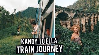 Most Scenic Train Ride in the World | Exploring Ella in Sri Lanka
