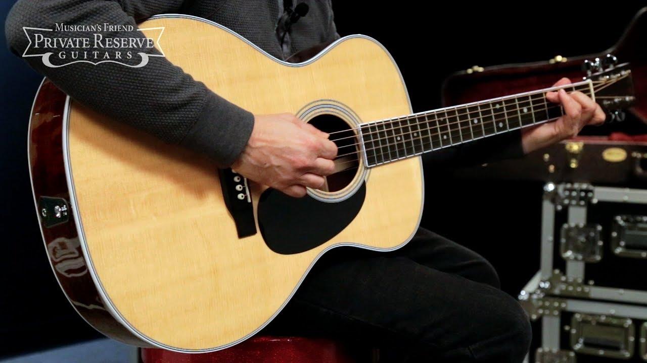 martin guitar gp 35e electric acoustic series grand electronics standard performance