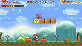 Chapter 1-1: Super Paper Mario: [Wii]