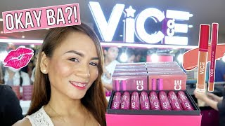 VICE COSMETICS SHOPPING in CUBAO! (Not sponsored, Okay ba?!)