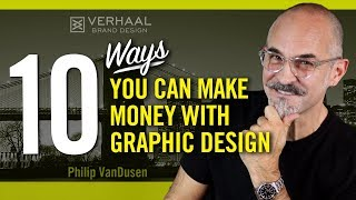 Here are 10 ways you can make money with graphic design, your creative skills and knowledge. this is a request video from one of my viewers who wanted to kno...