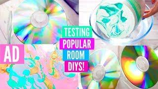 testing popular room diys cheap easy teenage room diy tutorial ad