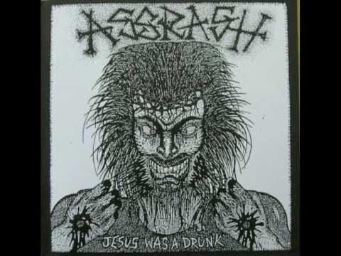 """ASSRASH - """"Jesus was a Drunk""""  (Fleas & Lice split)"""