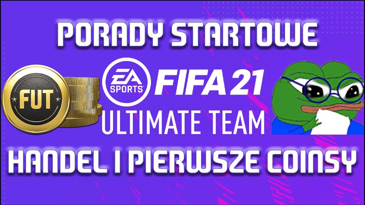 NAJLEPSZE METODY JAK ZAROBIĆ COINSY NA START GRY FIFA 21! Ultimate Team porady dla początkujących