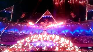 Closing of the olympic games 2012