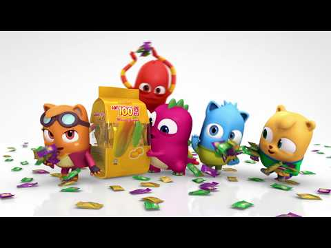 Cheeke-e's Buddies Dance with LOT 100 Gummy