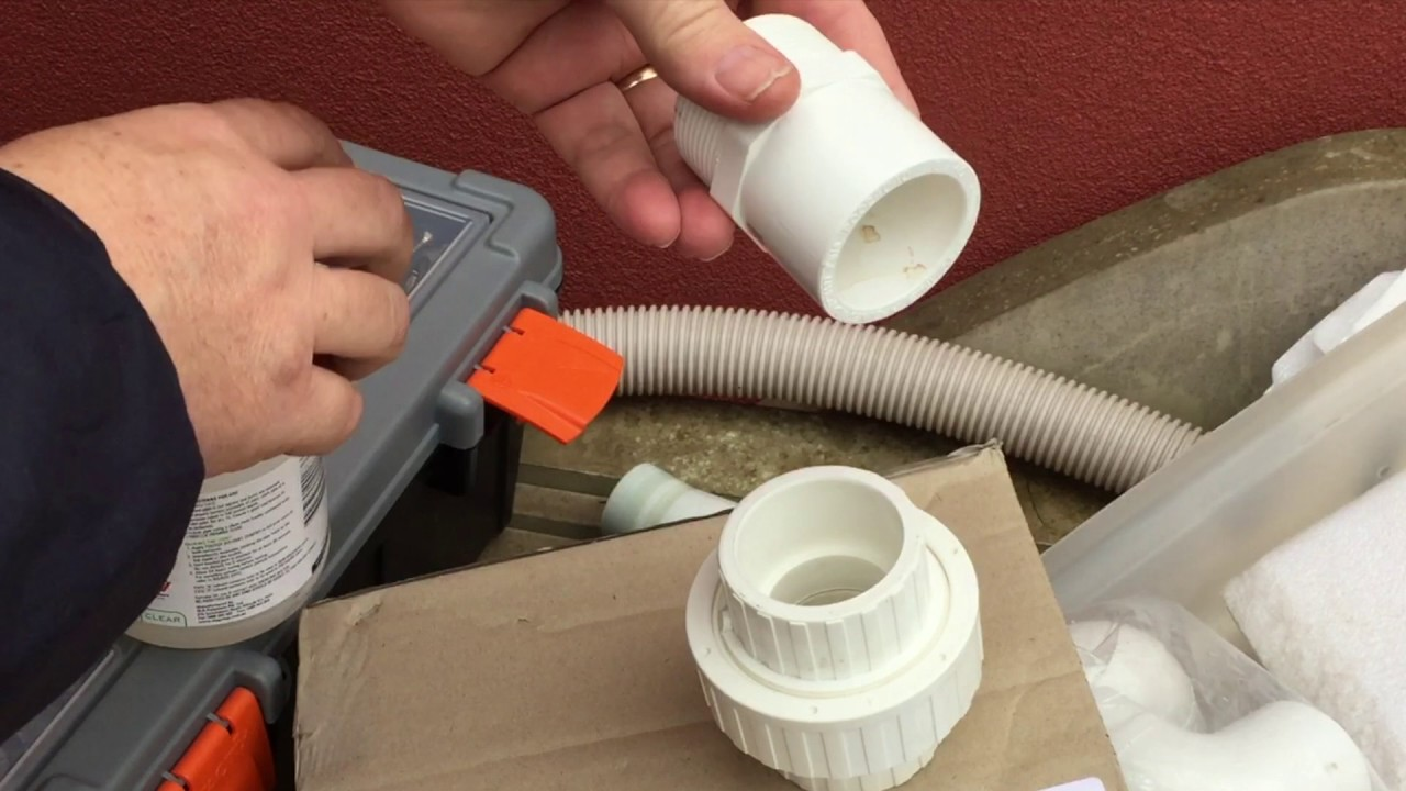 Pvc Joints How To Glue A Pvc Fitting Connecting Pool Pipe And Fittings Joiners