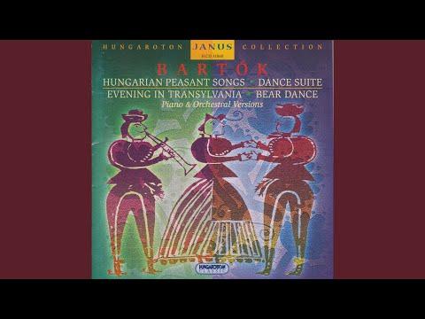 Beat Dance - Hungarian Sketches, Sz. 97, BB. 103 No. 2