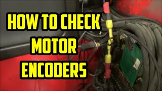How to Check Motor Encoders on Raymond Easi