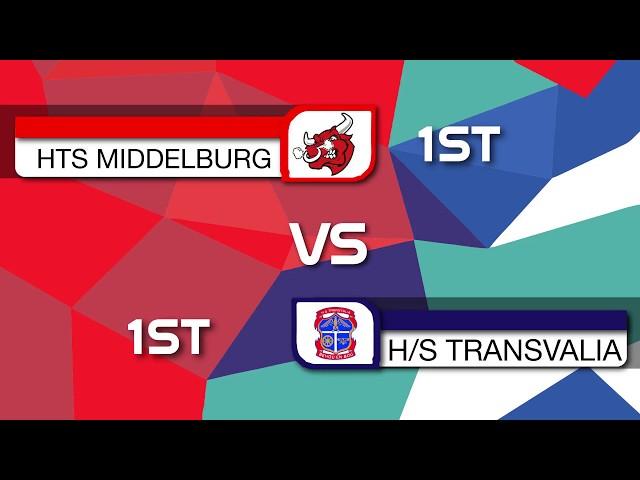 HTS Middelburg 1XV vs HS Transvalia 1XV   2nd Half