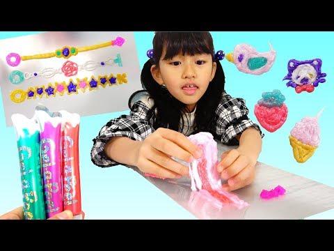 ジェルアピールで手作りアクセサリー♡いっぱい作って剥がすの楽しい♪himawari-CH