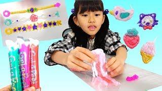 ジェルアピールで手作りアクセサリー♡いっぱい作って剥がすの楽しい♪himawari-CH thumbnail