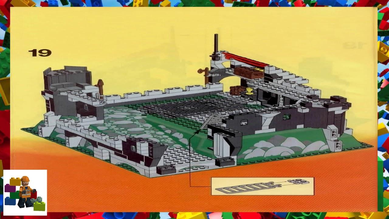 Lego Instructions Castle Black Knights 6086 Black Knigts
