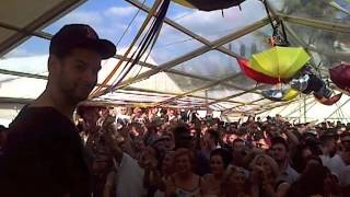 MK Marc Kinchen playing Burning at Faversham Garden Party