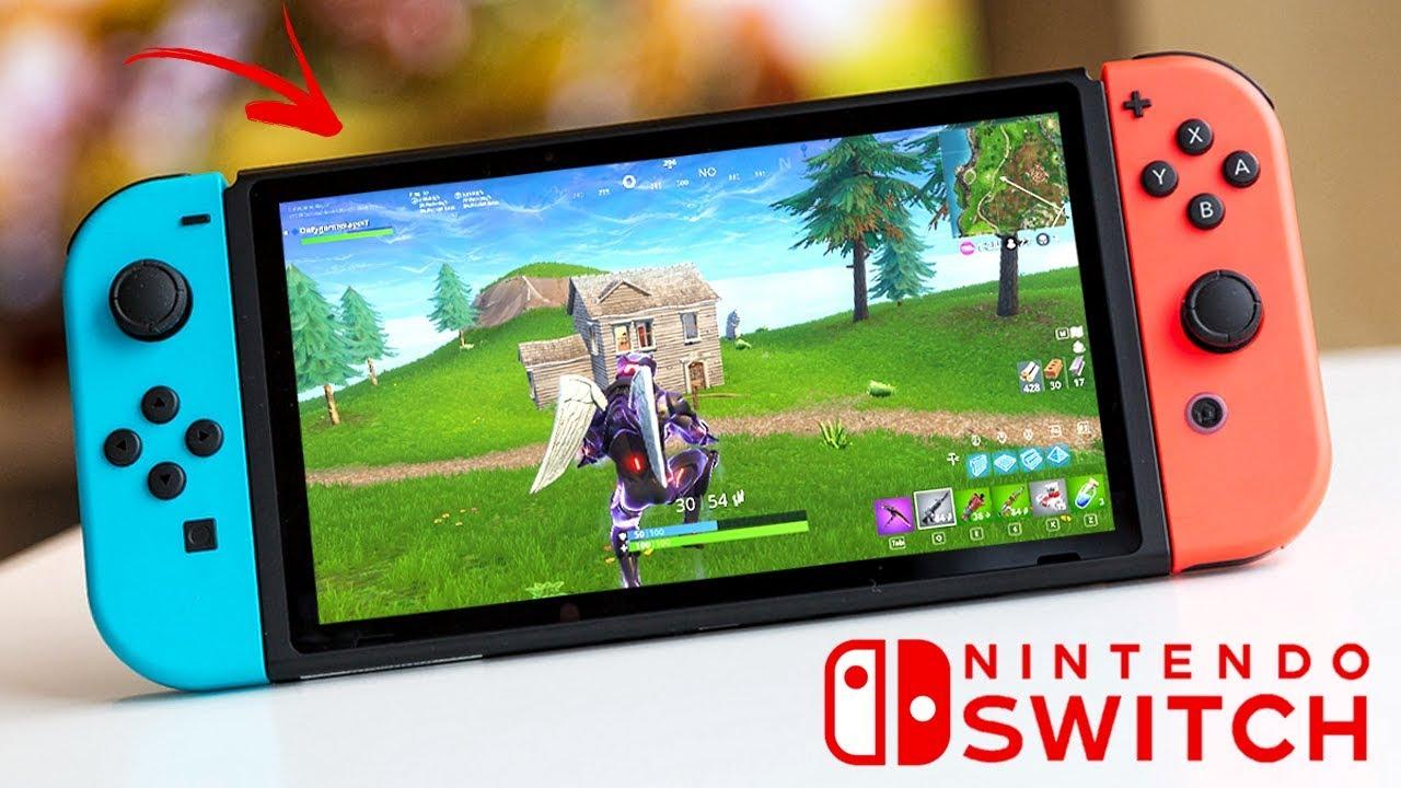 Fortnite En Nintendo Switch Novedades Youtube