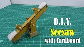 Video DIY: Seesaw with Cardboard download MP3, 3GP, MP4, WEBM, AVI, FLV Agustus 2018