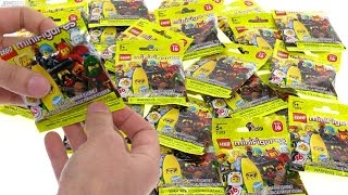 24 packs of LEGO Series 16 minifigs opened!  Jul 21, 2016