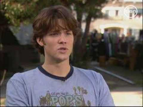 Jared Padalecki for Channel Ten (interview)