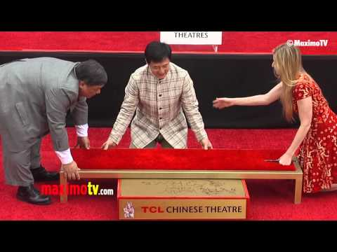 Jackie Chan Handprint and Footprint Ceremony with Jaden Smith and Chris Tucker