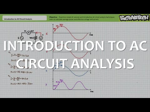 Introduction to AC Circuit Analysis (Full Lecture) thumbnail