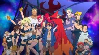 [Gurren Lagann] Opening 1 English by Sapphire HD creditless