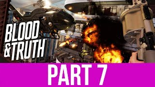BLOOD & TRUTH Gameplay Walkthrough Part 7 - SKYDIVING FOR LONDON