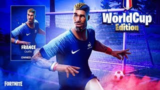 [LIVE FORTNITE] NEW SKIN WORLD CUP ANNOUNCE !!!