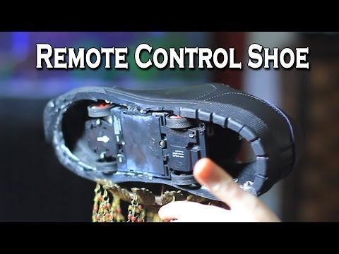 Remote Controlled Shoe Prank
