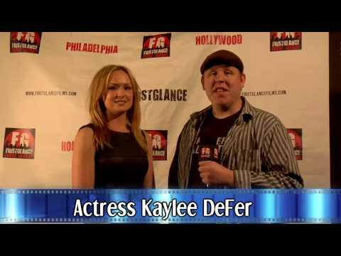 FirstGlance Hollywood 10 Filmmaker Kaylee Defer