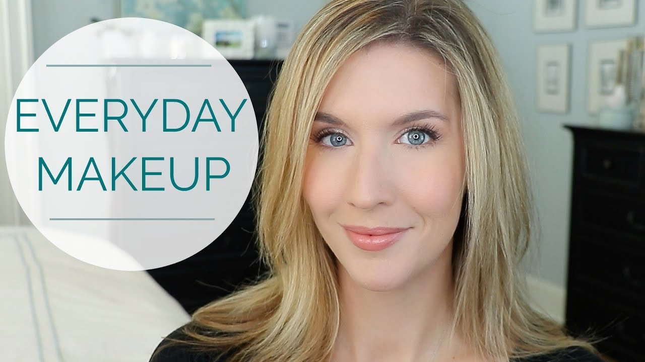 natural everyday makeup tutorial | over 40 - youtube