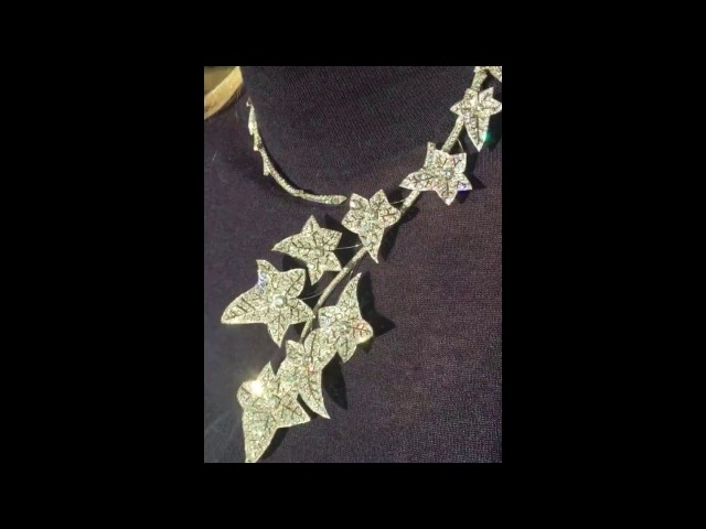 Boucheron Lierre de Paris diamond necklace