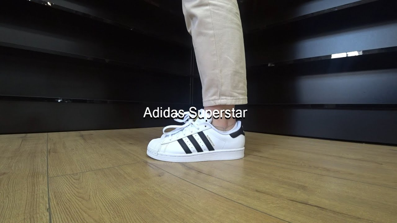 Adidas Superstar J FU7712 (White - black) Onfeet Review | sneakers.by