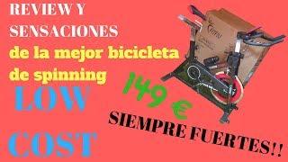 REVIEW Y OPINIÓN PERSONAL DE BICICLETA DE SPINNING LOW COST!! --SIEMPRE FUERTES--