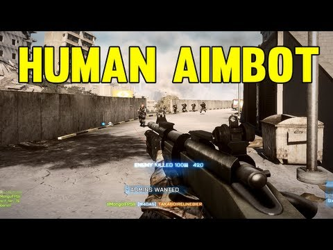 Human Aimbot 18 - Battlefield 3 Montage by MongolFPS (BF3 Sniper Montage / Gameplay)