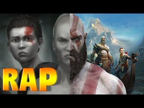 La vida de Kratos - God of War RAP