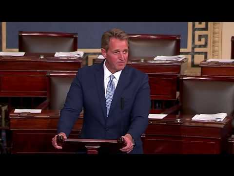 Thumbnail: Jeff Flake Senate Floor Speech on President Trump's Tweets and Actions