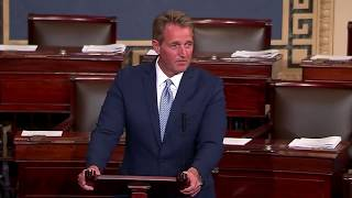 Jeff Flake Senate Floor Speech on President Trump's Tweets and Actions