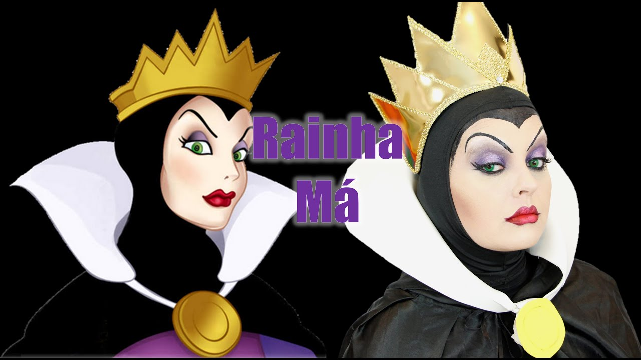 snow white evil queen makeup tutorial maquiagem da
