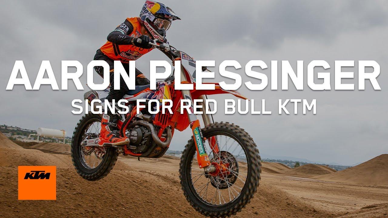 Aaron Plessinger signs for Red Bull KTM | KTM
