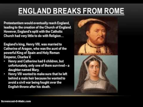 16-4 (Part 2) Protestantism in England